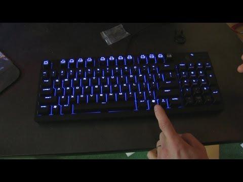 CM Storm Quickfire TK Mechanical Keyboard Unboxing & First Look Linus Tech Tips