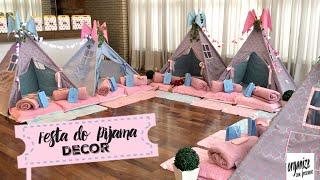 FESTA DO PIJAMA DECOR: NIVER ALICE  | Organize sem Frescuras!