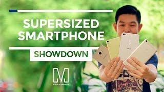 Supersized smartphone showdown: Zenfone 3 Ultra vs Galaxy A9 Pro vs Xperia XA Ultra vs Mi Max