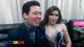 Erik Santos and Angeline Quinto Post Concert Interviews Part 1
