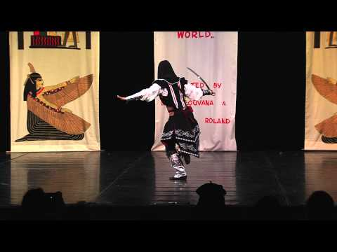 Salwa - Solo Tribal fusion 2nd place bellydancer of the world 2014
