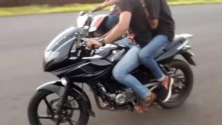 Pulsar Bike Stunts | Royal Enfield Bullet Stunt | KTM Duke Stunts | Bike Stunts 2017