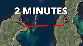 15 SHORTEST Flights In The World!