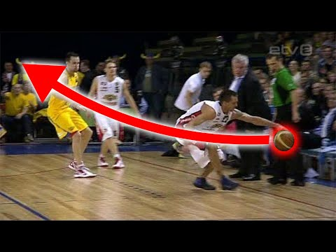Craziest Unintentional Shots in Basketball History