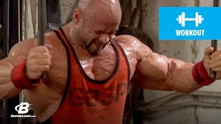 Branch Warren's Chest Workout for Mass   2010 Road to the Olympia
