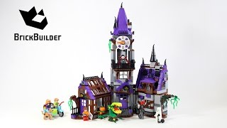 Lego Scooby-Doo 75904 Mystery Mansion - Lego Speed Build