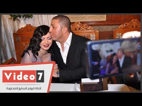 Xxx Mp4 شاهد Quot تلبيس شبكة Quot إيناس النجار وتبادل القبلات مع زوجها فى عقد قرانهما 3gp Sex