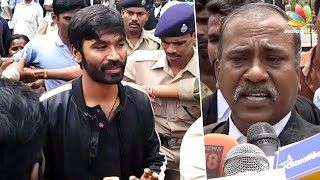 Dhanush appeared before Madurai Court to reject the couple's paternity claim | Kasthuri raja
