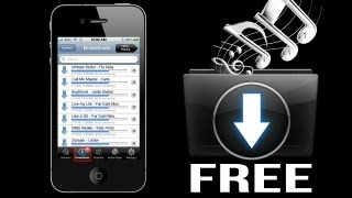 How to Download FREE Music on iPhone 5, 4S, 4, 3GS