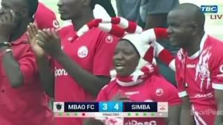 Penati za Simba vs Mbao FC (5-3) SportPesa Cup