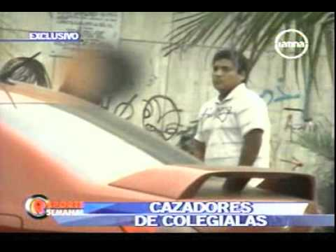 Frecuencia Latina Reporte Semanal Cazadores de colegialas