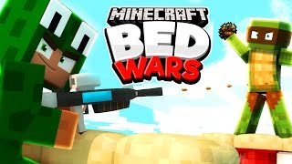 Minecraft Bed Wars - TEAM TINY TURTLE!
