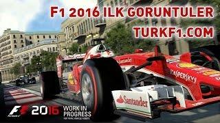 F1 2016 İlk Görüntüler HD (Oyun içi çekim anlatımsız)