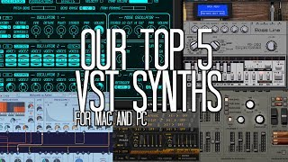 Our top 5 Free VST synths for EDM and Hip-hop