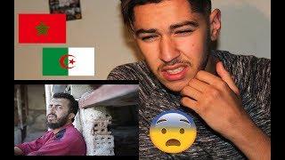 Anes Tina Rani za3fane , راني زعفان REACTION   مغربي أبكاه فيديو جزائري رائع
