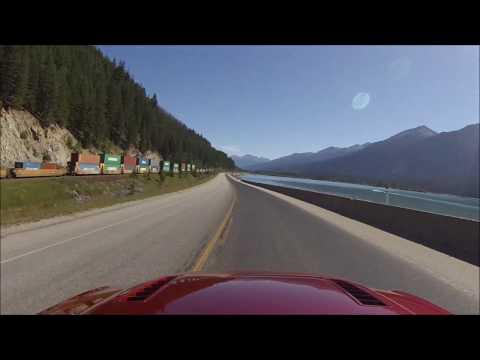  HD  GoPro Mustang thru Canadian Rockies