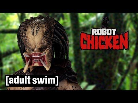 The Best of Predator Robot Chicken Adult Swim