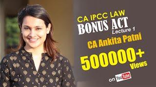 CA Ankita Mehta Patni - IPCC law lecture