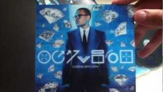 Unboxing Chris Brown's FORTUNE (Deluxe Edition)