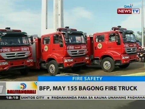 BT: BFP, may 155 bagong fire truck