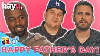 Happy Fathers Day Ft, Rob Kardashian, Kanye West & Scott Disick   Keeping Up With The Kardashians
