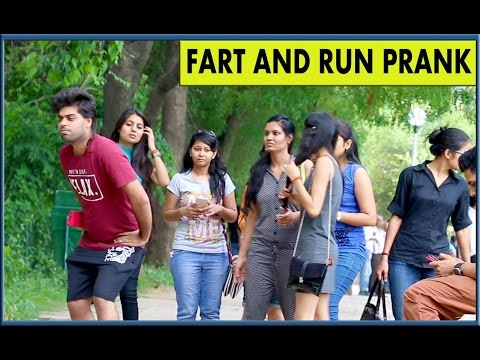 Fart and Run Prank - TroubleSeekerTeam - Pranks in India
