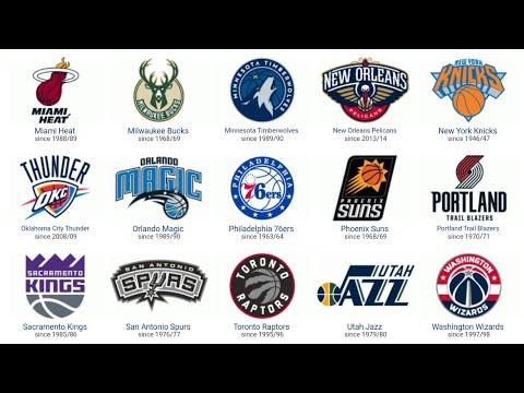 Top 30 NBA Logos 2017!