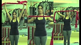 Katrina Kaif Hot Workout Video In Gym