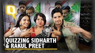 Sidharth Malhotra & Rakul Preet Take the 'Who's More Likely' Quiz