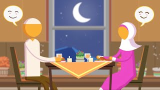 [Animation - 4/6] Habits of Happy Productive Muslim Couples: They are grateful to one another