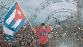 MAJOR LAZER LIVE IN HAVANA, CUBA @ TRIBUNA ANTIIMPERIALISTA