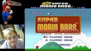 Стрим Super Mario Bros.1(SNES) Прохождение