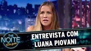 The Noite (16/03/16) - Entrevista com Luana Piovani