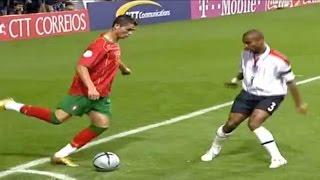 Cristiano Ronaldo vs England (Euro 2004) by Hristow