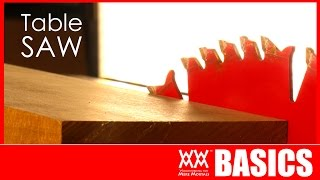 7 Things To Get You Started Using A Table Saw | WOODWORKING BASICS