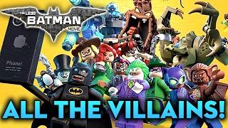 LEGO BATMAN - EVERY Batman Villain EXPLAINED!