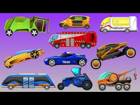 Xxx Mp4 Kids Tv Channel Futuristic Street Vehicles Cartoon Cars For Children 3gp Sex