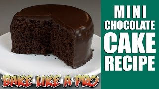 Easy Mini chocolate cake recipe