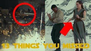 Star Wars: The Last Jedi   Behind The Scenes - 13 Things You Missed (SPOILERS)