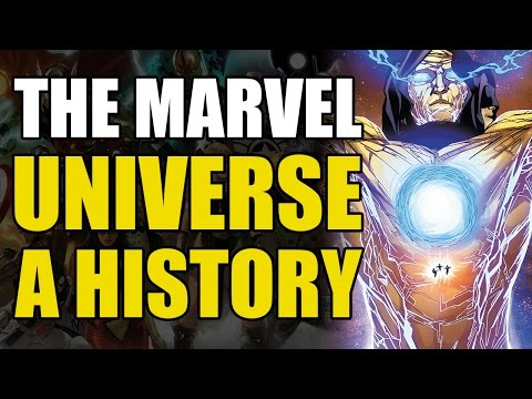 Download A History of The Marvel Universe - Part 1 - In The Beginning