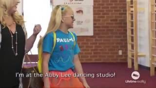 Dance Moms - JoJo transforms herself in her alter ego Know it all Paul-la - (Season 6 Episode 27)