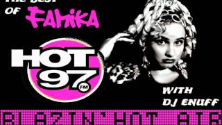 Famika with DJ Enuff on Hot 97