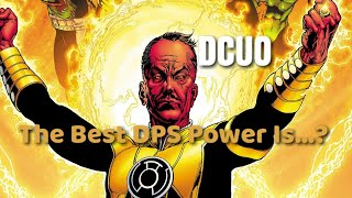 DCUO | What's The Best DPS Power for 2018?