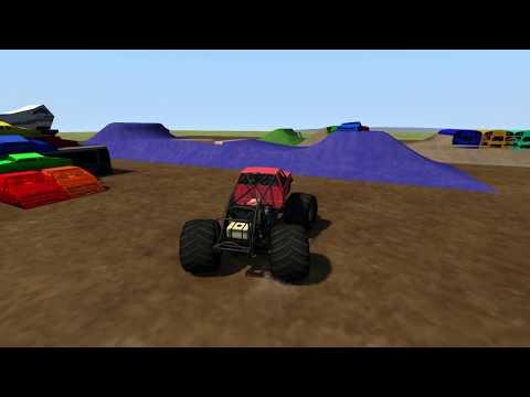 BeamNG.Drive Monster Jam; Public Update 1.09 testing