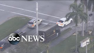 2 armed suspects attempt to rob UPS truck