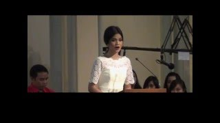 Citra Scholastika Pemazmur Misa Malam Natal Gereja