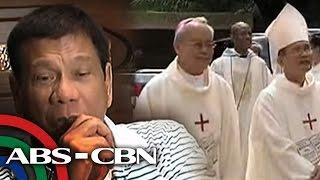 TV Patrol: Duterte, hinamon na maglabas ng ebidensya kontra Simbahang Katolika