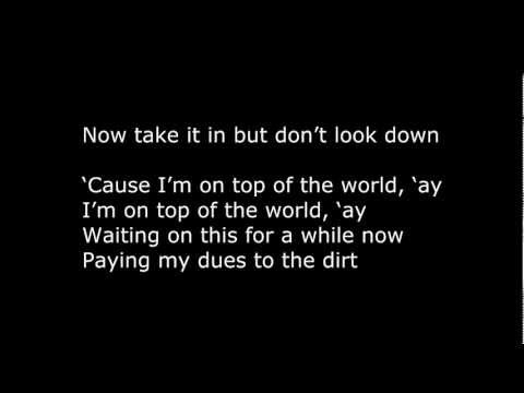 Imagine Dragons - On Top Of The World [Lyrics] by LyricMusic4u