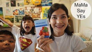 มนุดแม่รีวิว Ep.3 l ProBioNicโปรไบโอนิคอร่อยมากประโยชน์เพียบลูกๆปลื้ม #แม่สวยสวย