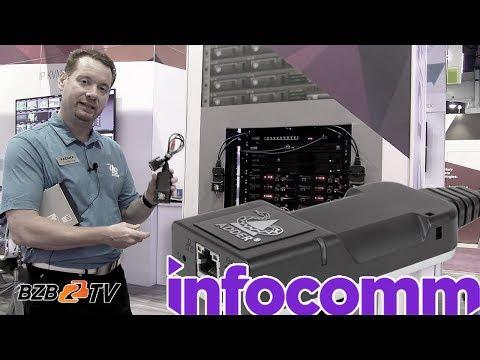 ADDERLink INFINITY KVM over IP | InfoComm 2018